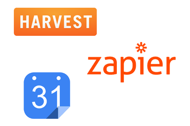 Booking, Project, Integrations, Harvest, Zapier
